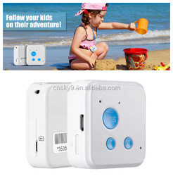 Mini GPS tracker / Two Ways Communication Real-Time SOS Communicator Pet GPS tracker, GPS Tracker kids