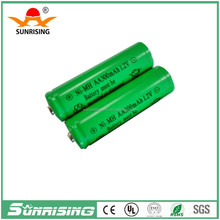Sunrising ni mh aa 300mah 1.2v rechargeable batterie/battery solar/ 1000ma aa rechargeable ni-mh battery 1.2v