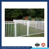 High quality powder coating aluminium fence price plastic cover fence