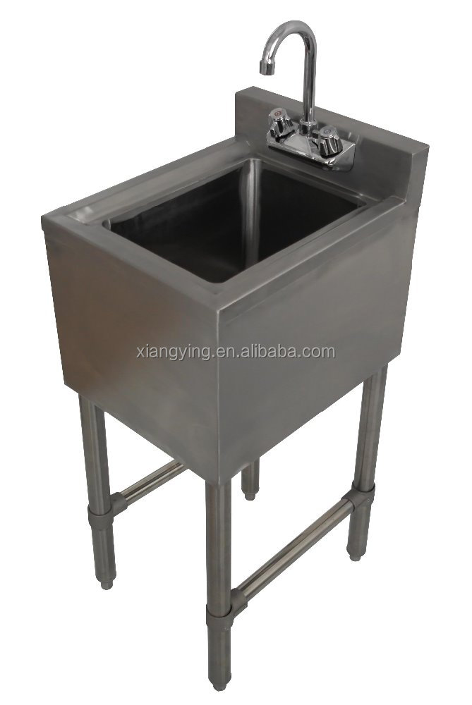 NSF Approval Stainless Steel One Tub Bar Sink