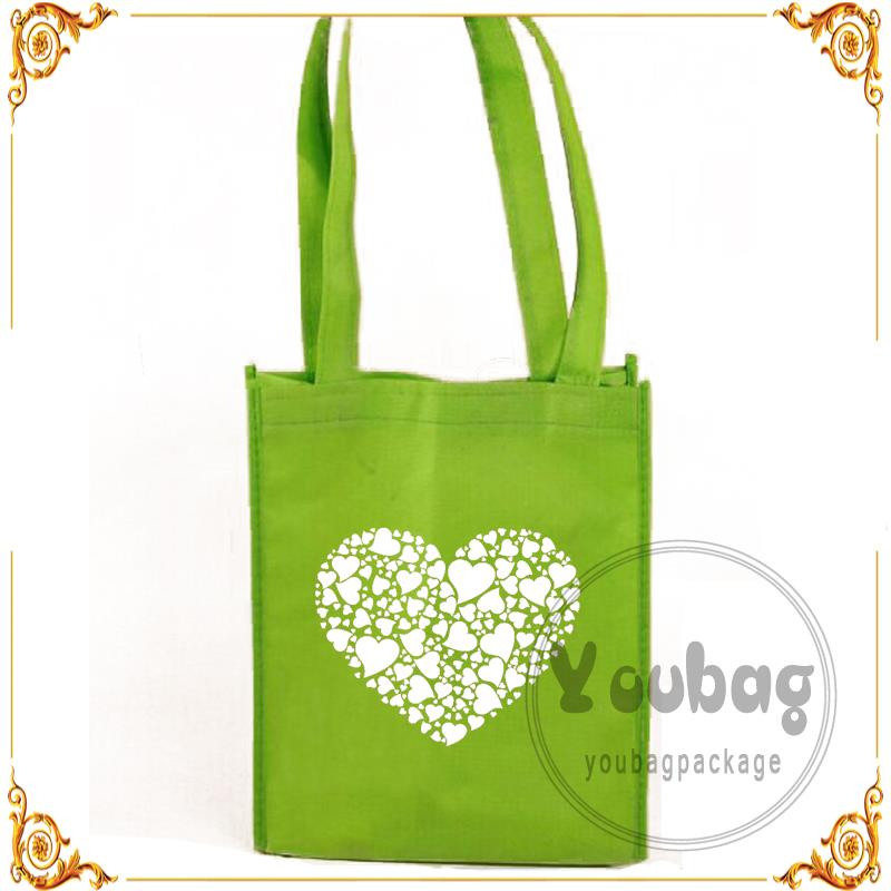 cloth tote bag coated lovely non woven shopping bag candy colorful tote bag