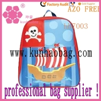 Boat stimulate school bags
