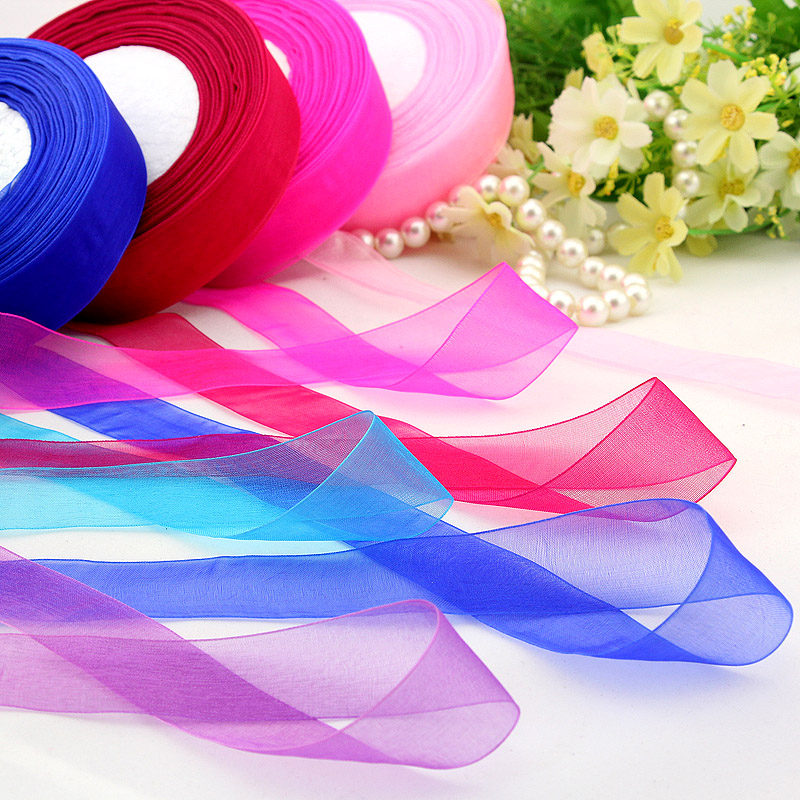 Stitched Grosgrain Ribbons