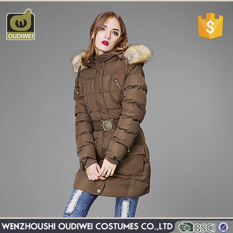 New coming OEM quality women coats 2016 with fast delivery