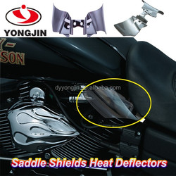 Hot sale Factory ABS motorcycle Heat Deflectors for Harley