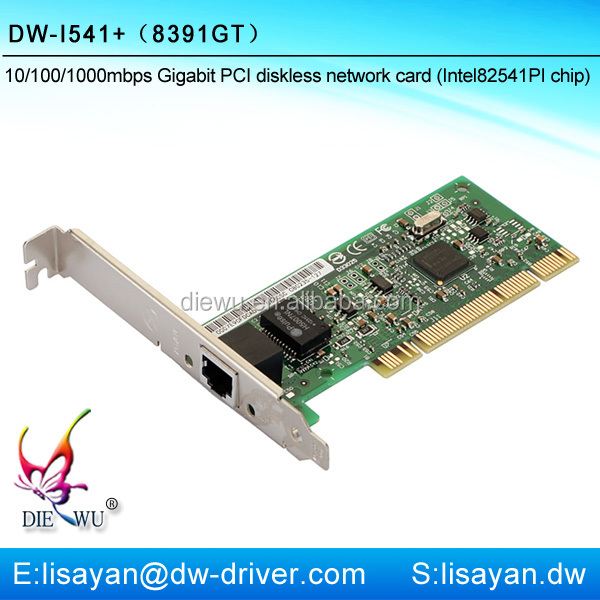 Fast ethernet mini gigabit boot rom pci lan card
