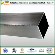 China OEM stainless steel square rectangular tube pipe 304 316 316l grade weight per meter