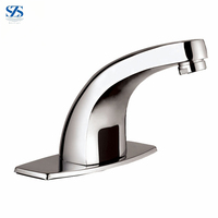 Free Touch Brass Sensor Hot Cold Water Mixer Automatic Tap