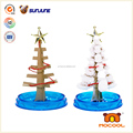 Educational christmas tree toy, DIY magic crystal growing paper toy for children