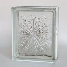 latest wall decorations glass block/glass brick