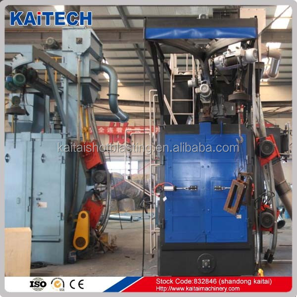 Q36/Q76 trolley type shot blasting machine/ wheel blast equipment
