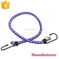 8mm,10mm,12mm Latex Bungee Cord with hooks