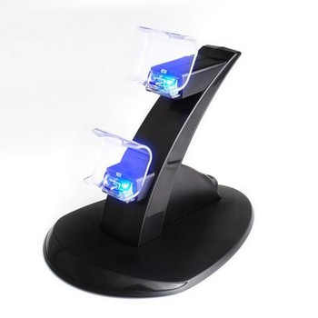 Dual Charger Controller Stand with for PlayStation 4 PS 4 Gaming Accessories Prevent Cover Kit charging station