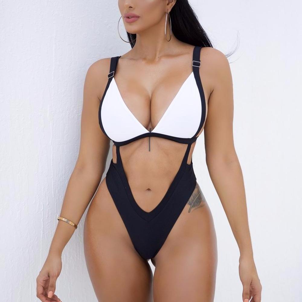 Mature Women One Sexy Fashion Brazilian Swimwear
