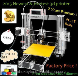 2015 New arrival brand new UP Multi-functional 3D printer,high quality 3D single extruder souce,ABS extrusion machine