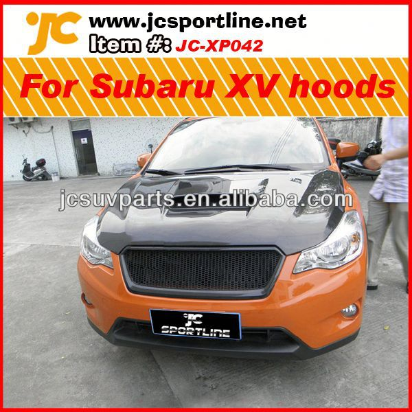 Car hoods carbon engine cover for Subaru XV carbon fiber front engine hoods
