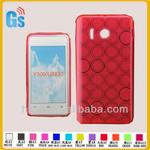 Bubble tpu for huawei y300 u8833 phone cases
