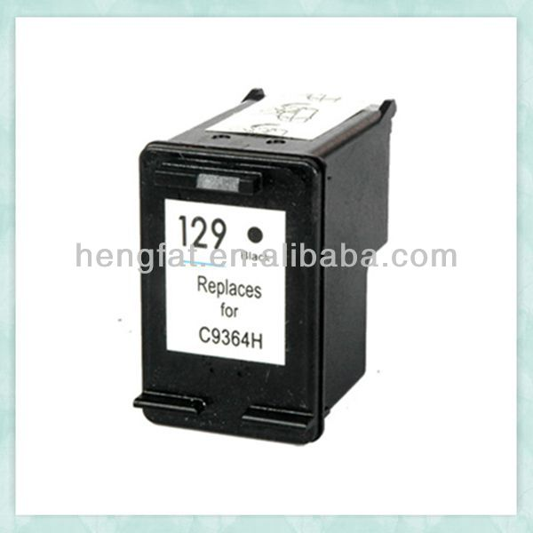 remaunfactured inkjet cartridge 129 C9364H for HP 129