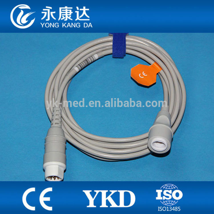 Best choice Siemens IBP adapter cable and Edward pressure transducer for medical equipment