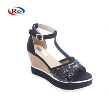 Top fashion sexy sandals women high heel wedge shoes
