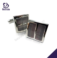 Wholesale fashion stainless steel mens cufflinks watch