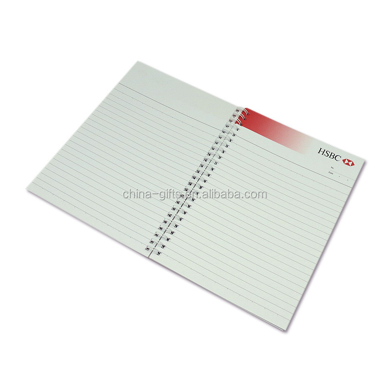 spiral binding soft cover note book