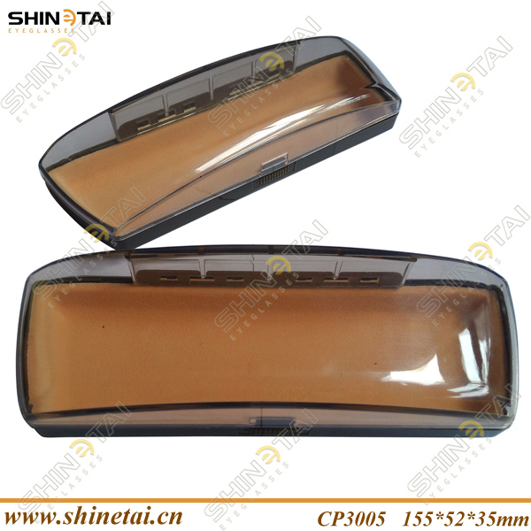 Good Sell Transparent Hard Plastic Optical Glasses Case