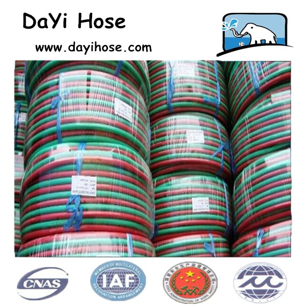 Twin weilding Resin hydraulic HOSE/ SAE100R7/R8 made in dayihose company, China