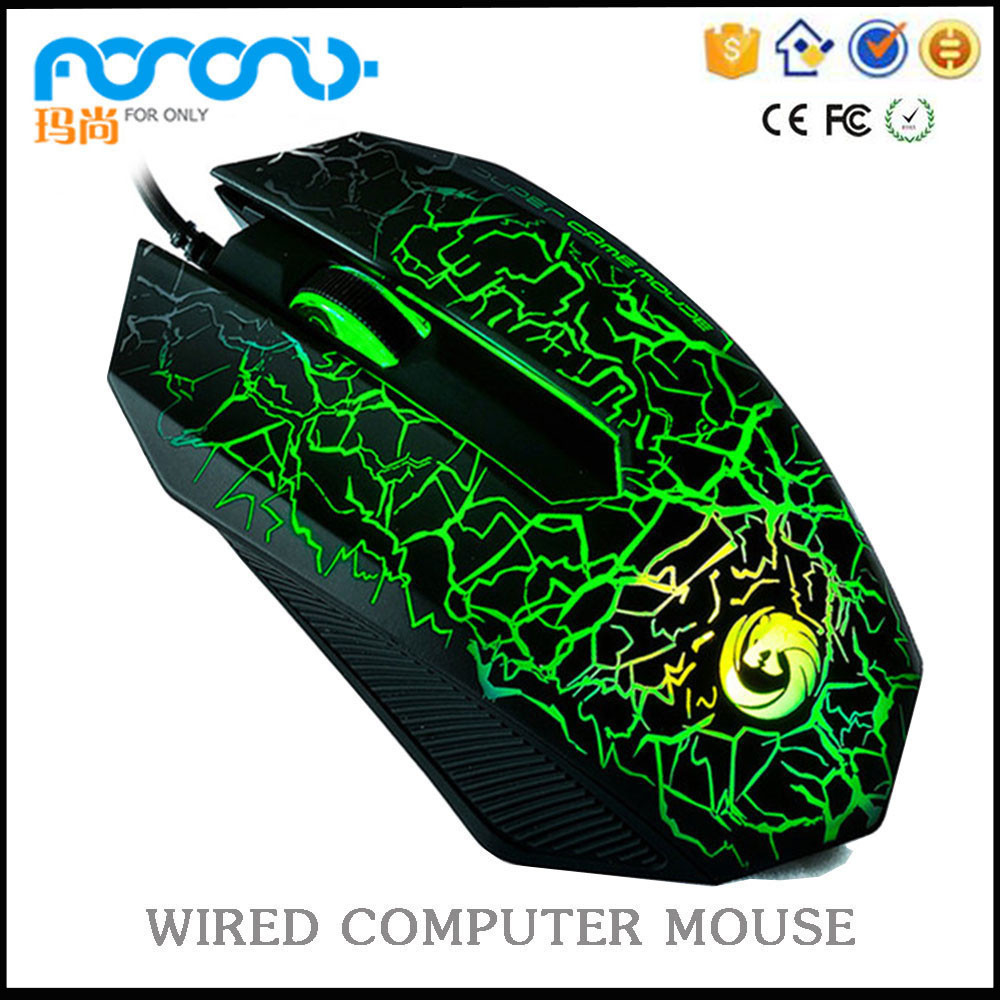 Computer hardware and software 6D LED wired MS-X1 mouse gamer gaming mouse