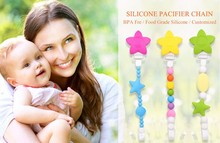 funny baby dummies pacifier holder clips