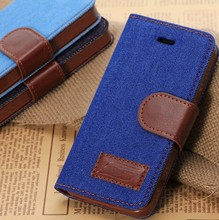 New fashional Cowboy With Stand Function Case for iphone5c