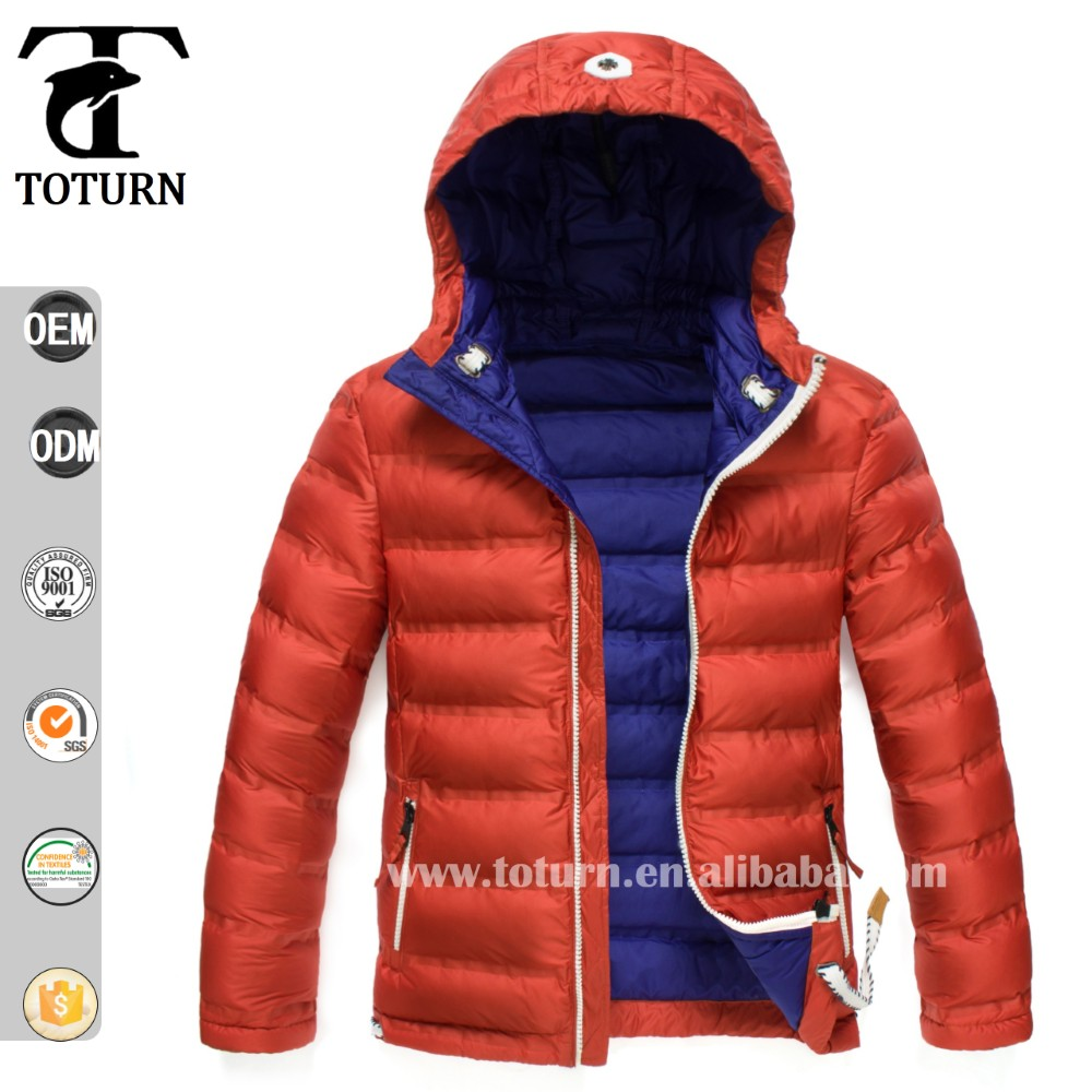 2016 High Quality Eco-Friendly down wholesale price oem manufacturer Custom logo for north china cover face jacket men