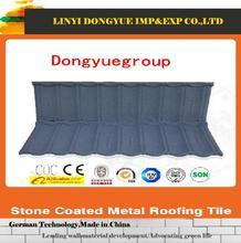 Cheap price with high quality sand coated metal roofing tile rubber roof tiles