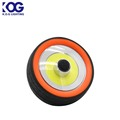 Round Tyre Hanging Outdoor COB LED Plastic Working Light, Camping Lantern with Magnet