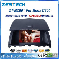 ZESTECH car dvd gps navigation system for mercedes benz c200 W204 (2008-2010) 180K/C200/C260/C300 ZT-BZ601