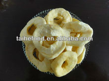 hot sale dried/dehydrated apple rings/kosher haccp food