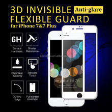 screen protector Film for iPhone 7 anti-shock 6H 3D curved PET Screen protector matte