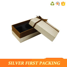 Luxury cmyk printing wedding invitation paper favour gift box