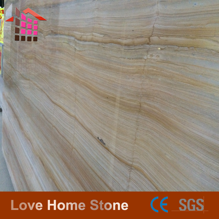 Wood grain onyx marble block