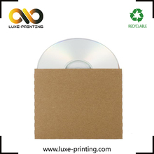 10pcs 125mm x 125mm 250 kraft paper CD DVD Disc storage bag CD DVD case envelope