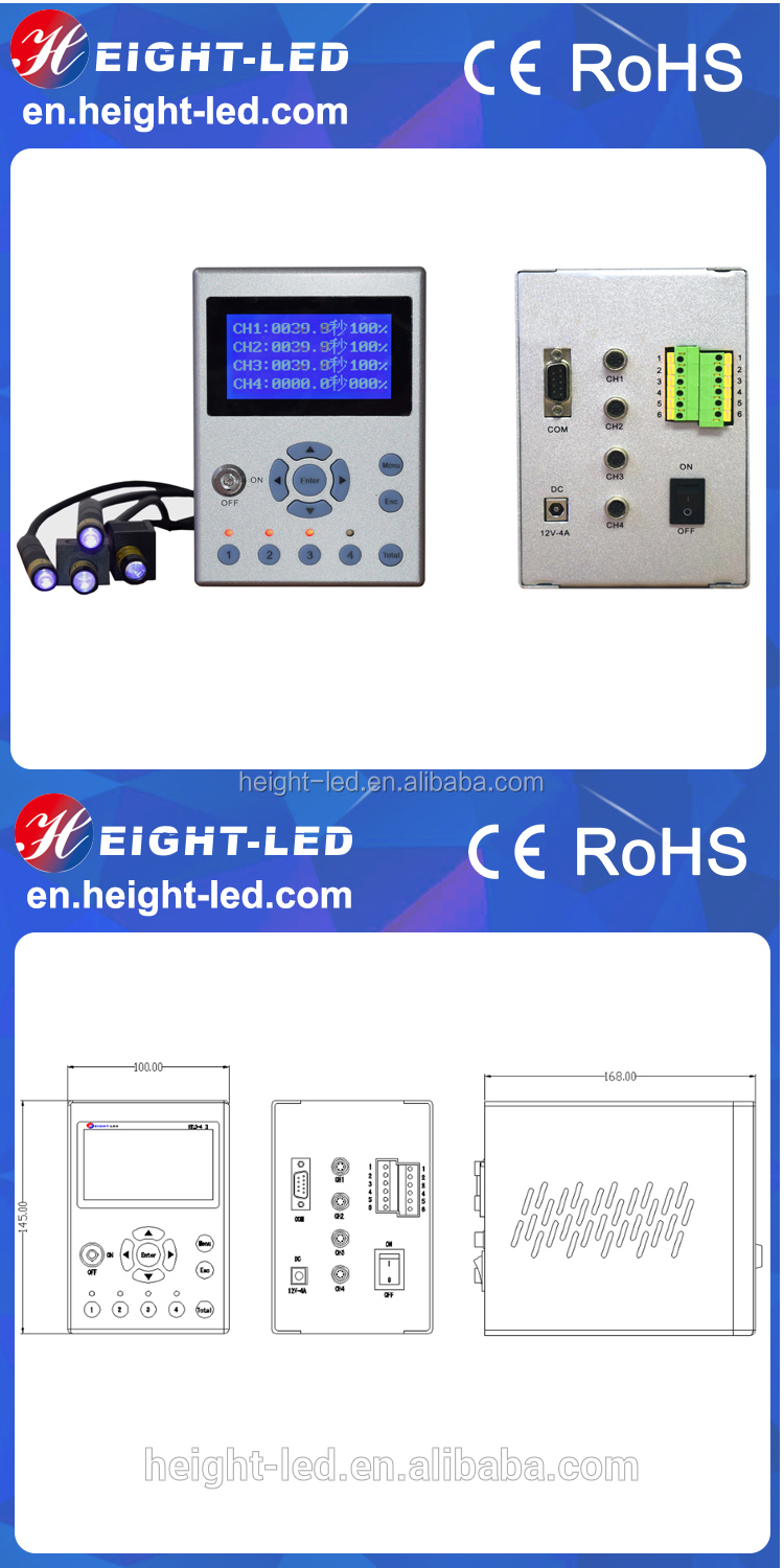 High power uv led curing for uv led spot curing machine
