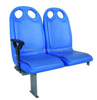 Blow molding plastic bus seat, city bus seat, plastic seat for bus