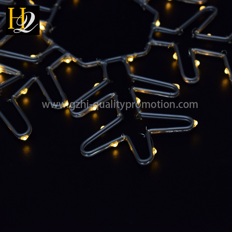 2017 newest christmas Outdoor LED arch motif lights decorative plastic snowflakes Fairy Waterproof Lights Christmas Lights.jpg