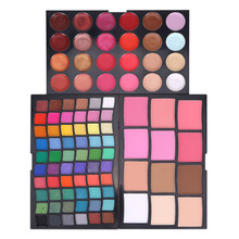 High pigment custom makeup 96 color private label eyeshadow palette