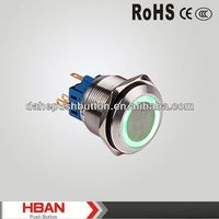 CE ROHS pushbutton switch with waterproof cover