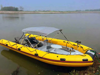 SJFZ21 Combined RIB boat powered by jetski with PVC inflatable tube