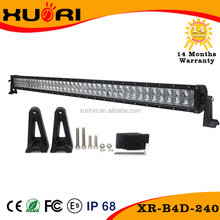 High quality led light bars 240w 288w 300w high power led light bar for car front bumper