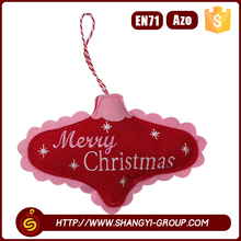 Merry christmas and a happy new year wishes holiday time cutely ornaments wholesale Christmas decorations