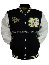 2014 Hot Sale Embroidery Customer Demands Coach / Letterman / College / Baseball /Custom Varsity Jacket In Unique Design / Style