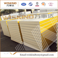 50-150mm thickness fireproof polyurethane sandwich panel for Steel Structure